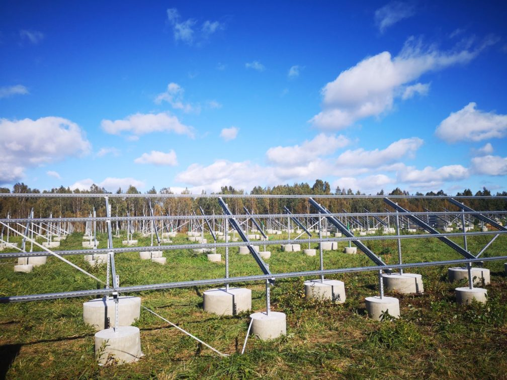 f623bab0f05 Eesti Gaas is building four solar power stations in Pärnu County, which  will be completed in collaboration with Paikre OÜ in December.