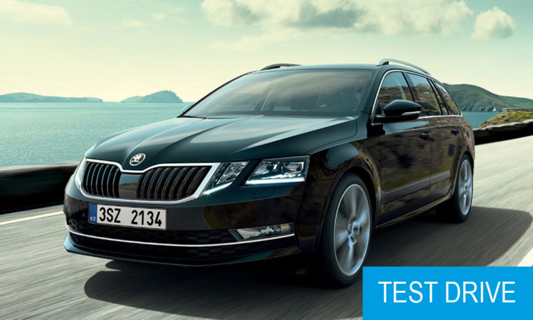 Come for a test drive with Škoda Octavia CNG