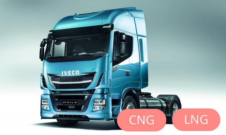 Iveco Stralis LNG või CNG veoauto