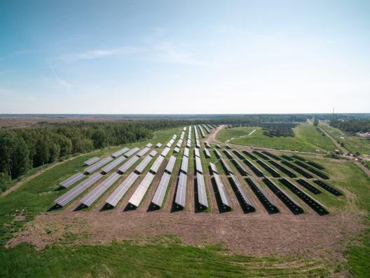 Pärnu päikesepark aerofoto