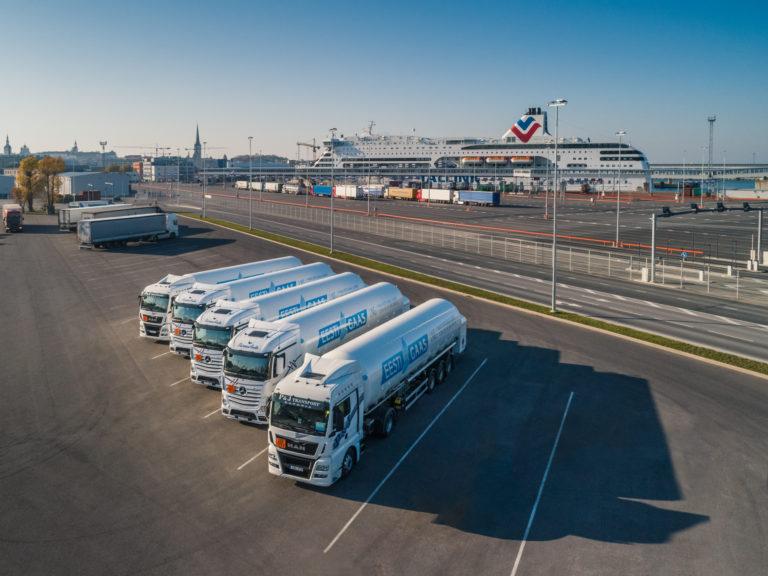 Eesti Gaasi LNG treilerid
