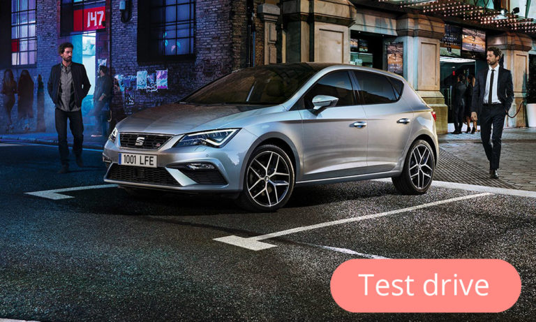 Test drive the new Seat Leon CNG