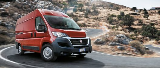 Fiat Ducato hybrid CNG vehicle