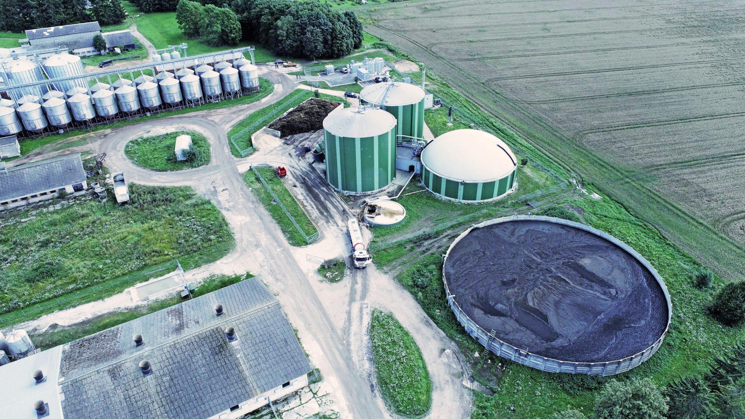 Rohegaasi tootmine Ilmatsalus