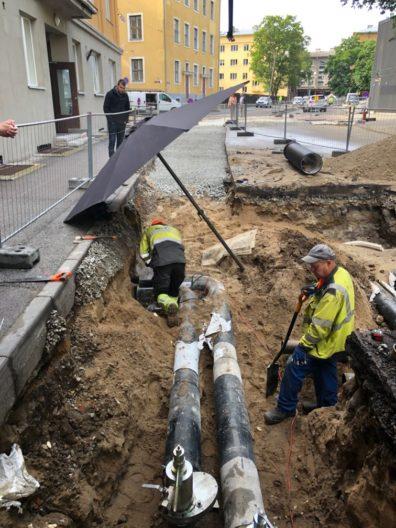 Soojustorustiku ehitustööd Tallinnas, tellija Utilitas