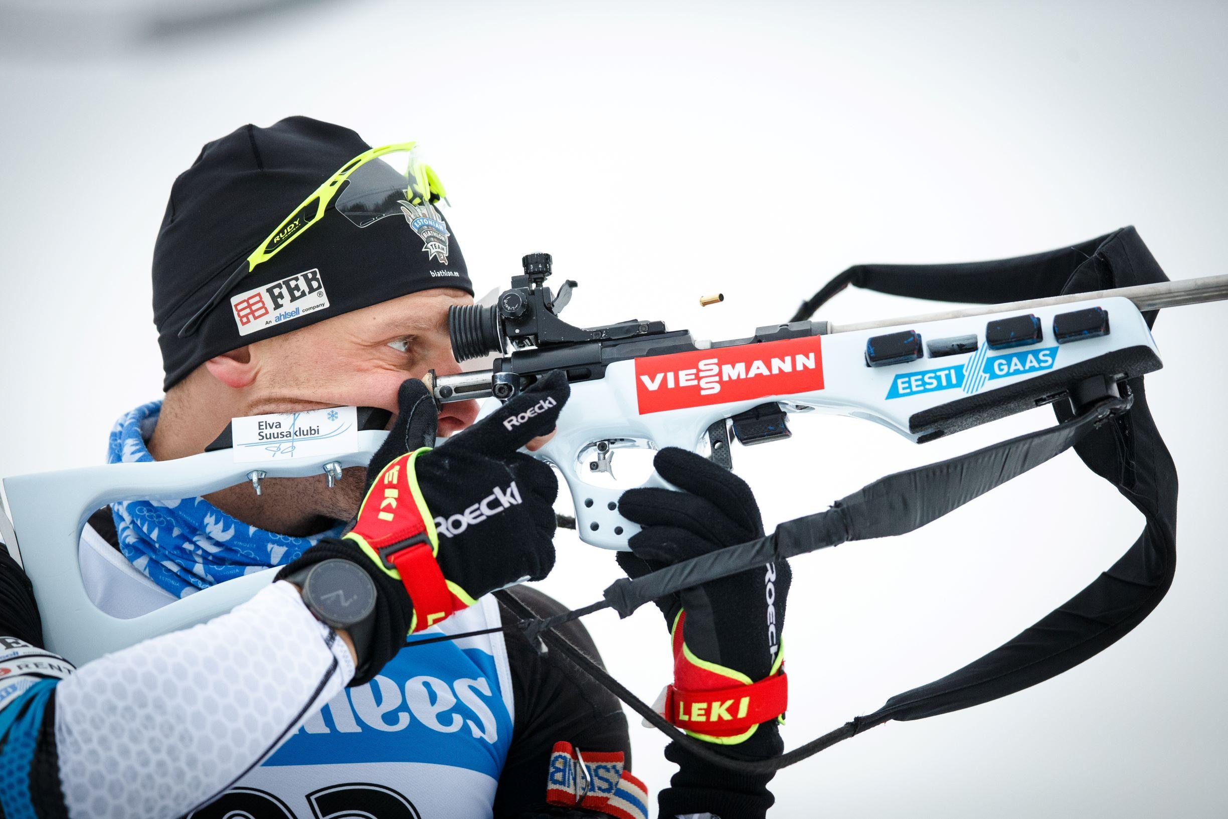 Eesti Gaas toetab laskesuusatajaid, foto Jarek Jõepera