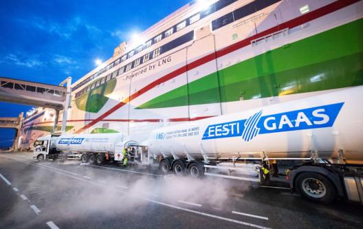 Tallinna Vanasadamas täitus 1500 LNG punkerdamist