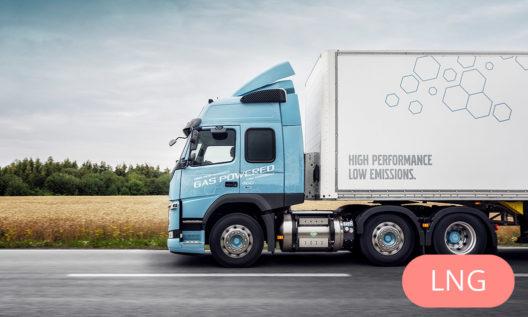 Volvo FM LNG truck