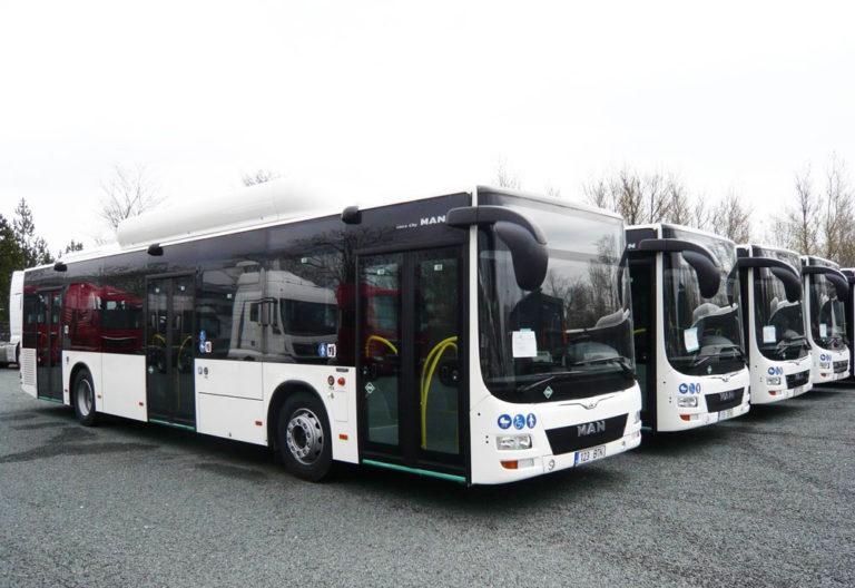 Man Lion's City CNG buss