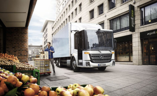 Mercedes-Benz Econic CNG truck