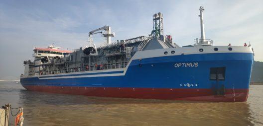Elenger Marine Optimus LNG bunker vessel