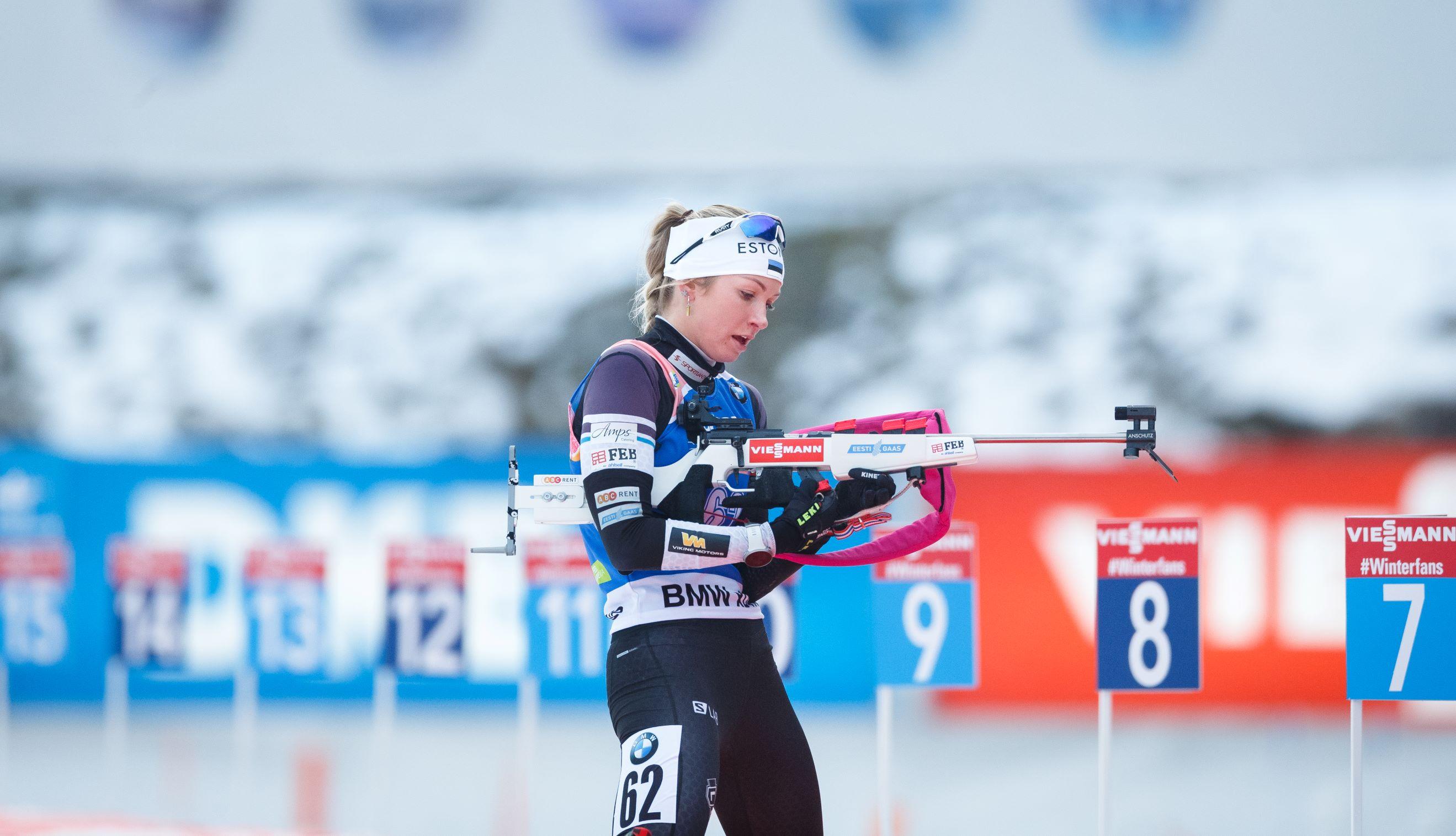 Eesti Gaas уже 10 лет является спонсором Федерации по Биатлону. Regina Oja, фото: Jarek Jõepera
