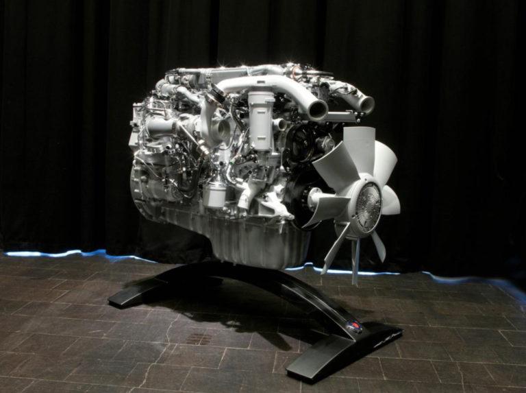 Газовый двигатель Scania объемом 9 л