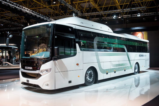 Scania Interlink LF low floor CNG bus