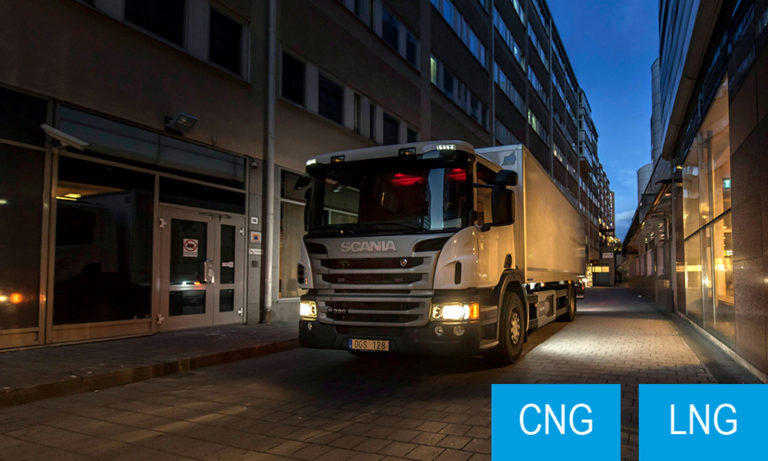 Scania Eurocargo CNG veoautod