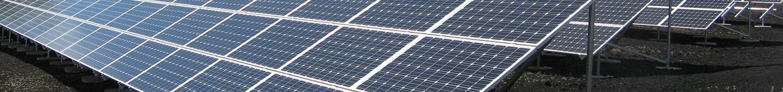 Päikesepaneelid Eesti Gaasi päikeseenergia jaama jaoks