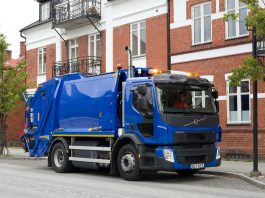 Volvo FE CNG truck