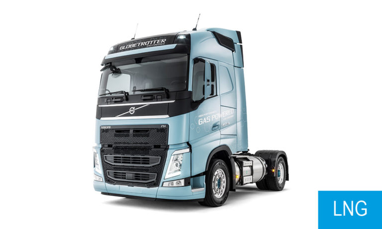 Volvo FH LNG veoauto